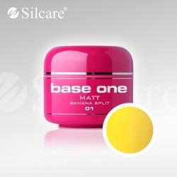 Base One UV Gel Colorat Matt Banana Split 01  -5 g