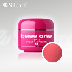 Base One UV Gel Colorat Matt Sweet Raspberry 04  -5 g