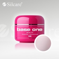 Base One UV Gel Colorat Matt Pastel Wedding 09 -5 g