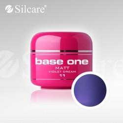 Base One UV Gel Colorat Matt Violet Dream 11 -5 g