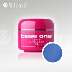Base One UV Gel Colorat Matt Bubble Gum 17  -5 g