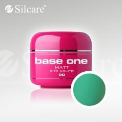 Base One UV Gel Colorat Matt Cito Mojito 20  -5 g