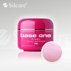Base One UV Gel Colorat Pixel Candy Shimmer 02  -5 g