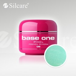 Base One UV Gel Colorat Pixel French Riviera 05 -5 g