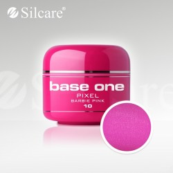 Base One UV Gel Colorat Pixel Barbie Pink 10  -5 g