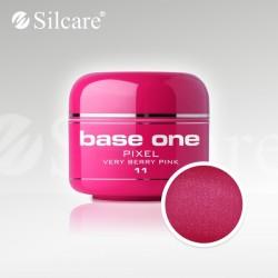 Base One UV Gel Colorat Pixel Very Berry Pink 11  -5 g