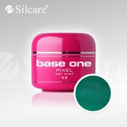 Base One UV Gel Colorat Pixel Wet Mint 17  -5 g