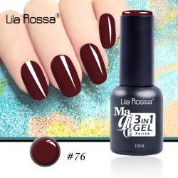 Oja Lila Rossa Magic 3 in 1 Gel Polish Nr. 76