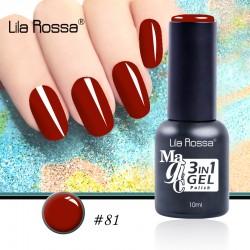 Oja Lila Rossa Magic 3 in 1 Gel Polish Nr. 81