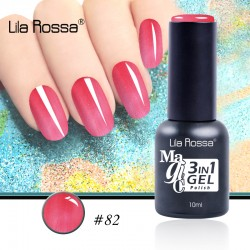 Oja Lila Rossa Magic 3 in 1 Gel Polish Nr. 82