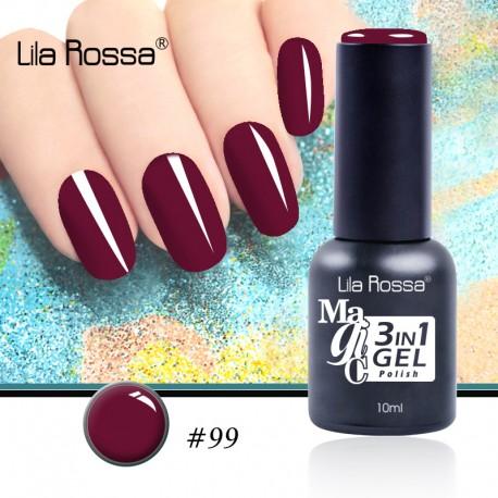 Oja Lila Rossa Magic 3 in 1 Gel Polish Nr. 99