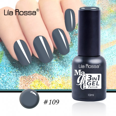 Oja Lila Rossa Magic 3 in 1 Gel Polish Nr. 109