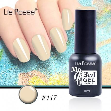 Oja Lila Rossa Magic 3 in 1 Gel Polish Nr. 117
