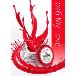 Gel Color Semilac - 026 My Love