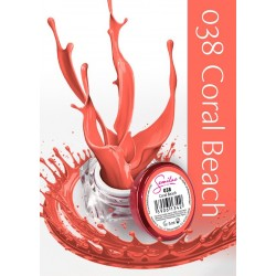 Gel Color Semilac - 038 Coral Beach