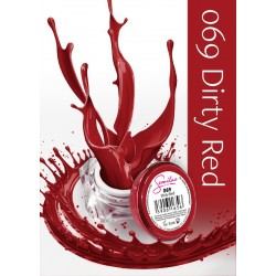 Gel Color Semilac - 069 Dirty Red