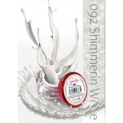 Gel Color Semilac - 092 Shimmerin White