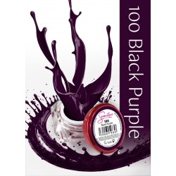 Gel Color Semilac - 100 Black Purple