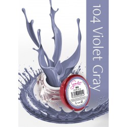 Gel Color Semilac - 104 Violet Gray