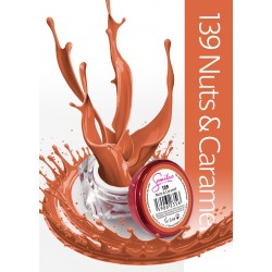 Gel Color Semilac - 139 Nuts & Caramel