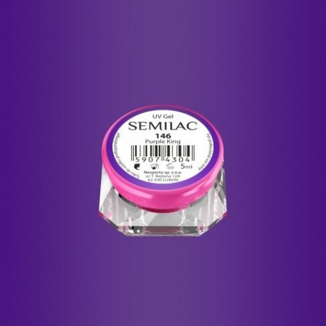 Gel Color Semilac - 146 Purple King