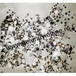 Cristale Mixuri Argintii  1440 buc