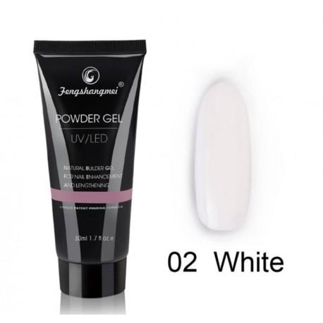 Powder Gel FSM White 02 - 30 ml
