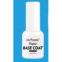 Lila Rossa Vogue  BASE COAT Soak Off -10 ml