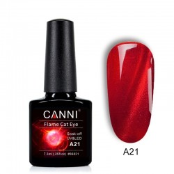 Oja semipermanenta CANNI Flame Cat Eye -A21