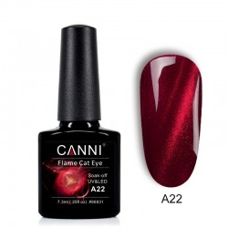 Oja semipermanenta CANNI Flame Cat Eye -A22