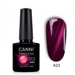 Oja semipermanenta CANNI Flame Cat Eye -A23