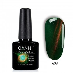 Oja semipermanenta CANNI Flame Cat Eye -A25