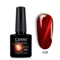 Oja semipermanenta CANNI Flame Cat Eye -A26