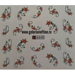 Tatuaj Flori - A445