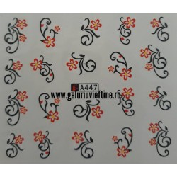 Tatuaj Flori - A447