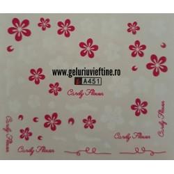 Tatuaj Flori - A451