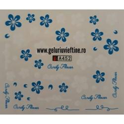 Tatuaj Flori - A452