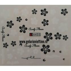 Tatuaj Flori - A455