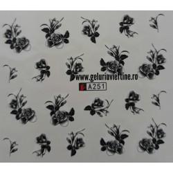 Tatuaj Flori - A251