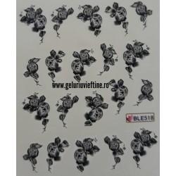 Tatuaj Flori - BLE-518