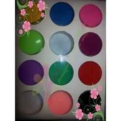 Pudra acrilica colorata