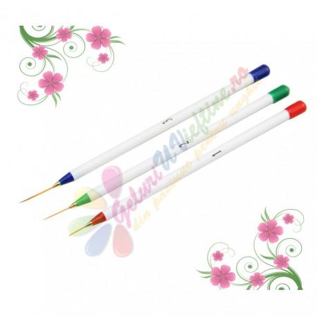 Set 3 pensule pentru linii