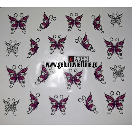 Tatuaj Fluturi - A 353
